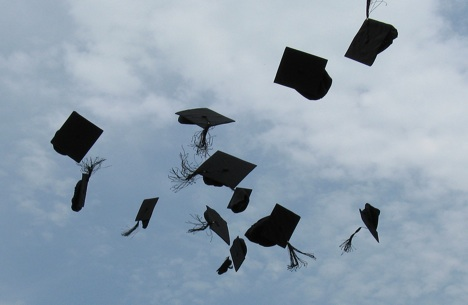 students-throwing-caps-at-graduation