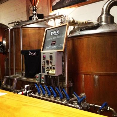 defiant brewery