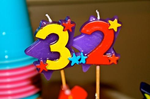 32 bday